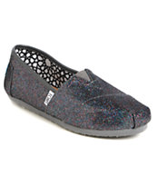 Toms Classics Multi Glitter Women's Shoes