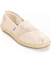 Toms Classics Natural Mesh Women's Shoes