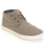Toms Paseo Mid Desert Taupe Farrin Shoes