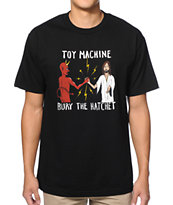 Toy Machine Bury The Hatchet Black Tee Shirt