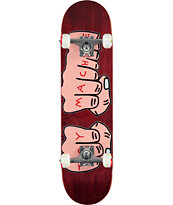 "Toy Machine Fists Woodgrain 7.75"" Complete Skateboard"