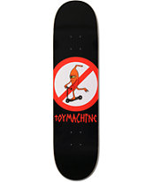"Toy Machine No Scooters 8.0"" Skateboard Deck"