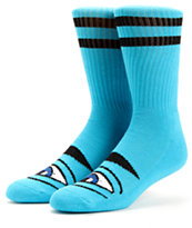 Toy Machine Sect Eye Blue Crew Socks
