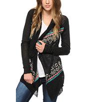 Trillium Allie Fiesta Stripe Cardigan