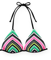 Trillium By Da Beach Molded Cup Triangle Bikini Top