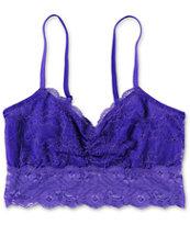 Trillium Deep Purple Lace Bralette
