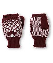 Trillium Jess Burgundy Mitten Gloves