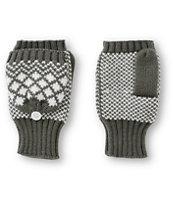 Trillium Jess Grey Mitten Gloves