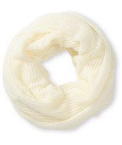 Trillium Kajsa Ivory Knit Infinity Scarf