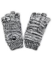 Trillium Kerry Marled Knit Mitten Gloves