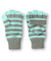 Trillium Logan Stripe Mitten Gloves