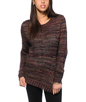 Trillium Multicolor Crew Neck Sweater