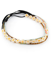 Trillium Multipack Daisy, Woven & Braided Headbands