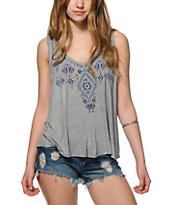 Trillium Olivia Embroidered Tank Top