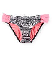 Trillium Sunny Tribal Tab Side Bikini Bottom