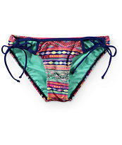 Trillium Thread Zeppelin Side Tie Bikini Bottom