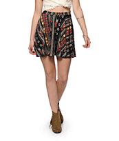 Trillium Tribal Skater Skirt