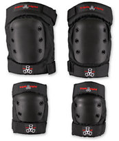 Triple Eight Elbow & Knee Pad Set