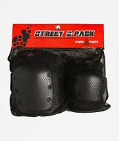 Triple Eight Street Knee & Elbow Pads 2 Pack