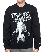 Trukfit Blow Black Crew Neck Sweatshirt