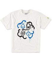 Trukfit Boys Luvin Da Crew White T-Shirt