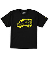 Trukfit Boys Star Fill Up Black Tee Shirt