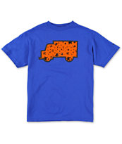 Trukfit Boys Star Fill Up Royal Blue Tee Shirt