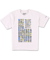 Trukfit Boys TRKFT Flag White Tee Shirt