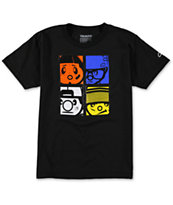 Trukfit Boys The Crew Black Tee Shirt