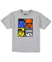 Trukfit Boys The Crew Grey Tee Shirt