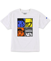 Trukfit Boys The Crew White Tee Shirt