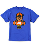 Trukfit Boys Tommy Solid Royal Blue Tee Shirt