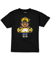 Trukfit Boys Tommy Star Fill Black Tee Shirt