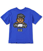 Trukfit Boys Tommy Star Fill Royal Blue Tee Shirt