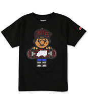 Trukfit Boys Tommy Swirl Black Tee Shirt