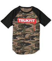 Trukfit Boys Truk Camo Raglan T-Shirt