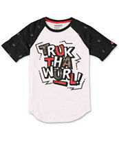 Trukfit Boys Truk The World Raglan Tee