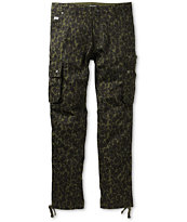 Trukfit Cheetah Camo Green Cargo Pants