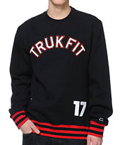 Trukfit Core Black Crew Neck Sweatshirt