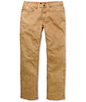 Trukfit Core Denim Tapenade Beige Slim Fit Jeans