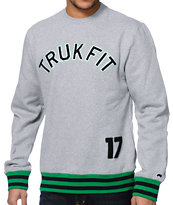Trukfit Core Grey Crewneck Sweatshirt