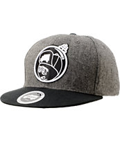Trukfit Feelin' Spacey Heather Grey Snapback Hat