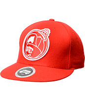 Trukfit Feelin' Spacey Red Snapback Hat