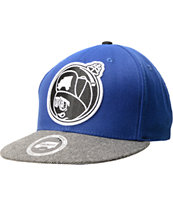 Trukfit Feelin' Spacey Royal Blue & Grey Snapback Hat