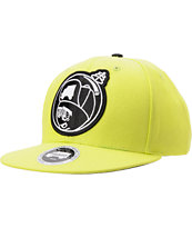 Trukfit Feelin' Spacy Yellow Snapback Hat