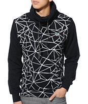 Trukfit Geo Shatter Boody Black Pullover Hoodie