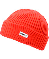 Trukfit Poppy Red Fold Beanie
