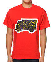 Trukfit Speckle Truk Red Tee Shirt
