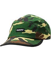 Trukfit Truk A Dot Camo Print 5 Panel Hat