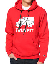 Trukfit Truklogo Red Pullover Hoodie